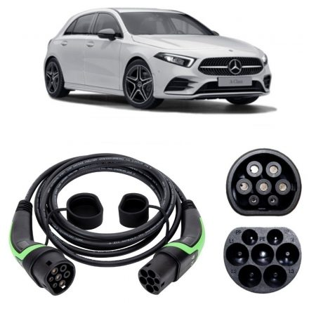 Mercedes A250e Charging Cable