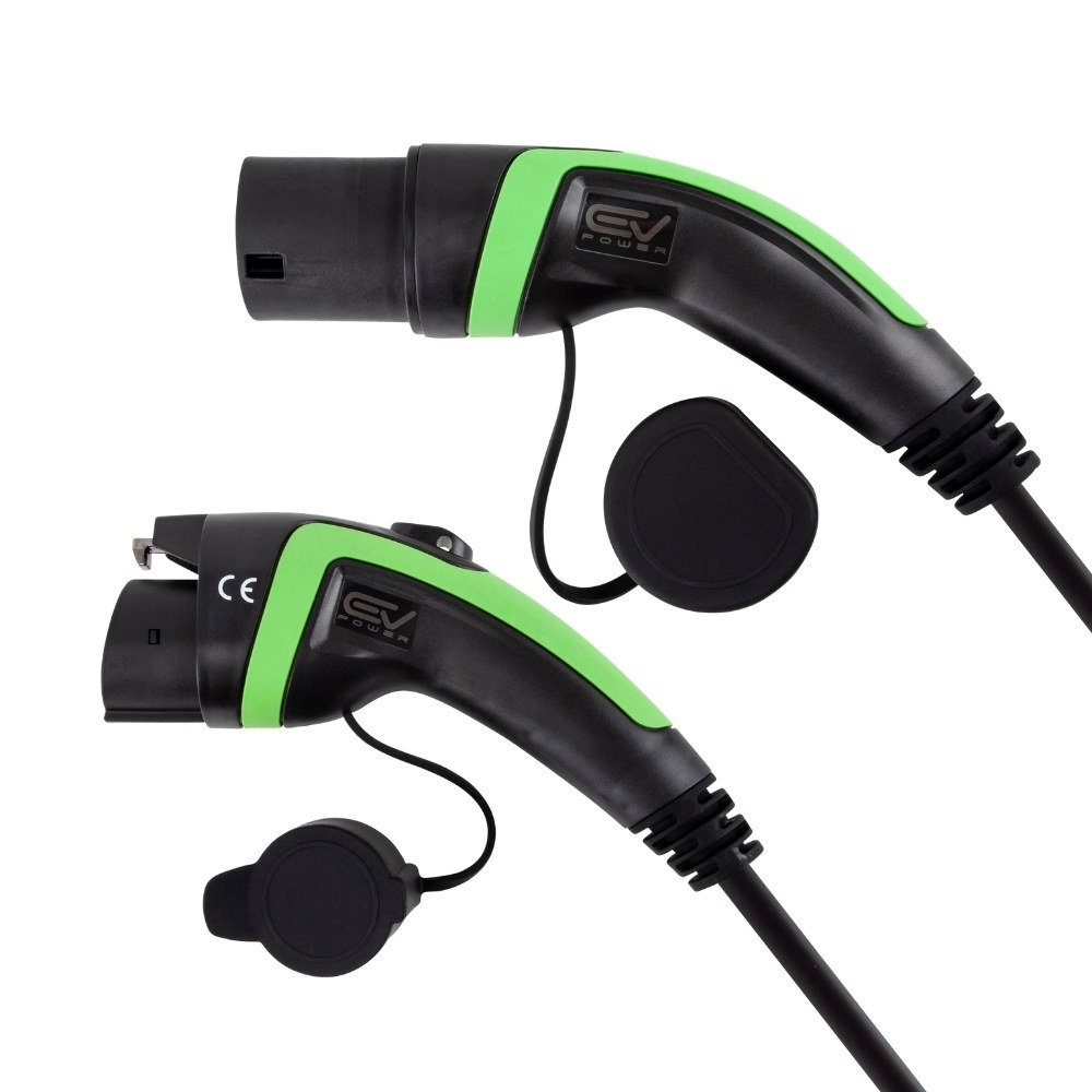 Type 1 to Type 2 Charging Cables (5)