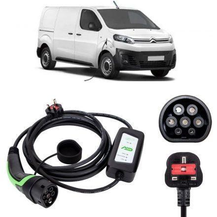 Citroen e-Dispatch Charging Cable