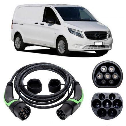 Mercedes Vito E-Cell Van EV Charging Cable